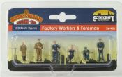 Bachmann 36403 Factory Workers & Foreman